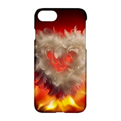 Arts Fire Valentines Day Heart Love Flames Heart Apple Iphone 7 Hardshell Case