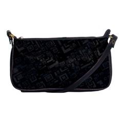 Black Rectangle Wallpaper Grey Shoulder Clutch Bags