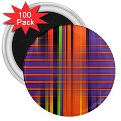 Background Texture Patterncake Happy Birthday 3  Magnets (100 pack)