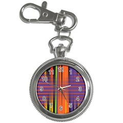 Background Texture Patterncake Happy Birthday Key Chain Watches