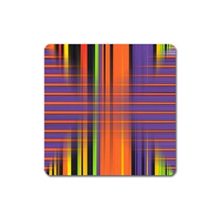 Background Texture Patterncake Happy Birthday Square Magnet