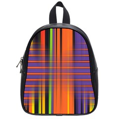 Background Texture Patterncake Happy Birthday School Bags (Small)