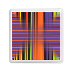Background Texture Patterncake Happy Birthday Memory Card Reader (Square)