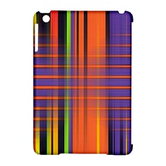 Background Texture Patterncake Happy Birthday Apple iPad Mini Hardshell Case (Compatible with Smart Cover)