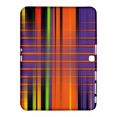Background Texture Patterncake Happy Birthday Samsung Galaxy Tab 4 (10.1 ) Hardshell Case