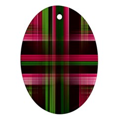 Background Texture Pattern Color Ornament (Oval)