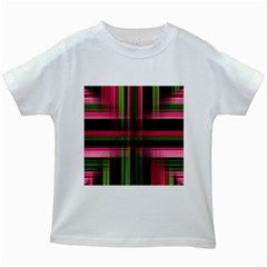 Background Texture Pattern Color Kids White T-Shirts