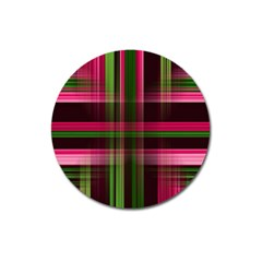 Background Texture Pattern Color Magnet 3  (Round)