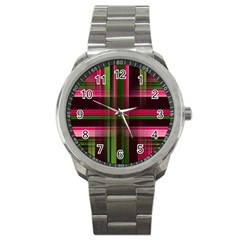 Background Texture Pattern Color Sport Metal Watch