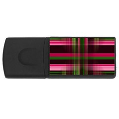 Background Texture Pattern Color USB Flash Drive Rectangular (4 GB)