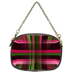 Background Texture Pattern Color Chain Purses (Two Sides)