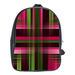 Background Texture Pattern Color School Bags(Large)