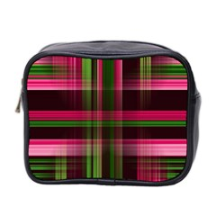 Background Texture Pattern Color Mini Toiletries Bag 2-Side