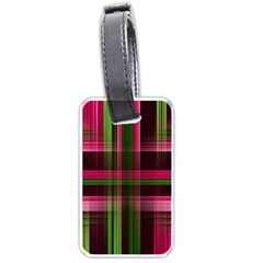 Background Texture Pattern Color Luggage Tags (One Side)