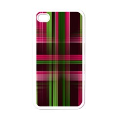 Background Texture Pattern Color Apple iPhone 4 Case (White)