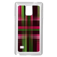 Background Texture Pattern Color Samsung Galaxy Note 4 Case (White)