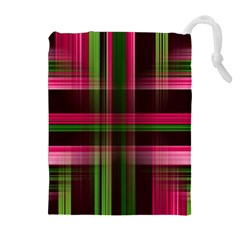 Background Texture Pattern Color Drawstring Pouches (Extra Large)
