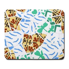 Broken Tile Texture Background Large Mousepads