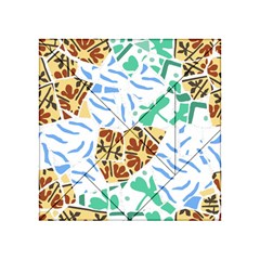 Broken Tile Texture Background Acrylic Tangram Puzzle (4  x 4 )