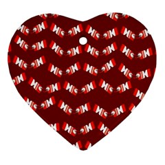 Christmas Crackers Ornament (Heart)