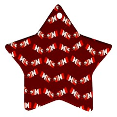 Christmas Crackers Ornament (Star)