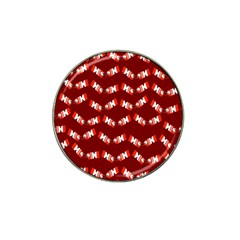 Christmas Crackers Hat Clip Ball Marker