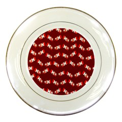 Christmas Crackers Porcelain Plates