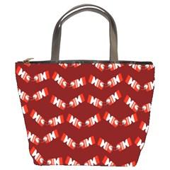 Christmas Crackers Bucket Bags