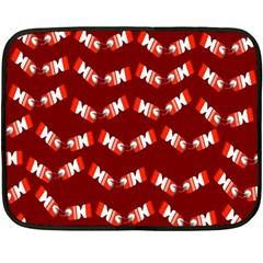 Christmas Crackers Fleece Blanket (Mini)
