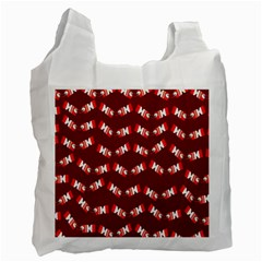 Christmas Crackers Recycle Bag (One Side)