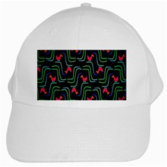 Computer Graphics Webmaster Novelty Pattern White Cap