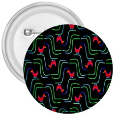 Computer Graphics Webmaster Novelty Pattern 3  Buttons