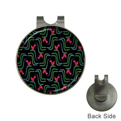 Computer Graphics Webmaster Novelty Pattern Hat Clips with Golf Markers