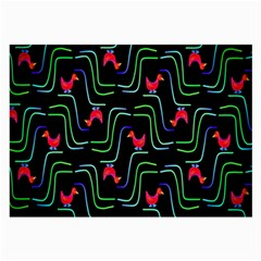 Computer Graphics Webmaster Novelty Pattern Large Glasses Cloth