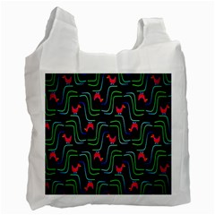 Computer Graphics Webmaster Novelty Pattern Recycle Bag (One Side)