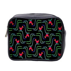 Computer Graphics Webmaster Novelty Pattern Mini Toiletries Bag 2-Side
