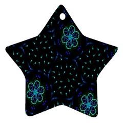 Computer Graphics Webmaster Novelty Star Ornament (Two Sides)