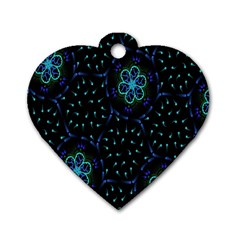 Computer Graphics Webmaster Novelty Dog Tag Heart (One Side)