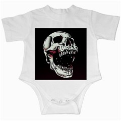 Death Skull Infant Creepers