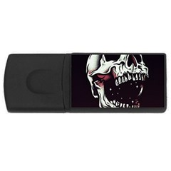 Death Skull USB Flash Drive Rectangular (4 GB)