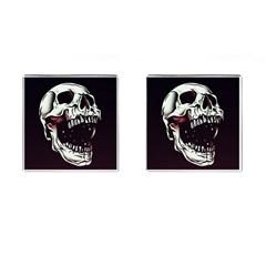 Death Skull Cufflinks (Square)