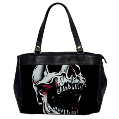 Death Skull Office Handbags
