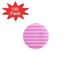 Fabric Baby Pink Shades Pale 1  Mini Magnets (100 pack)