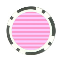 Fabric Baby Pink Shades Pale Poker Chip Card Guard