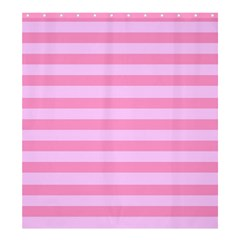 Fabric Baby Pink Shades Pale Shower Curtain 66  x 72  (Large)