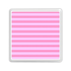 Fabric Baby Pink Shades Pale Memory Card Reader (Square)