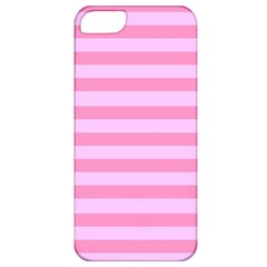 Fabric Baby Pink Shades Pale Apple iPhone 5 Classic Hardshell Case