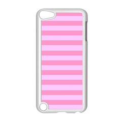 Fabric Baby Pink Shades Pale Apple iPod Touch 5 Case (White)