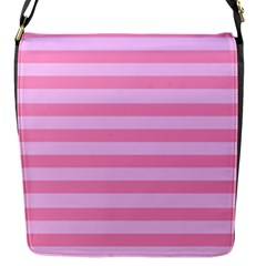 Fabric Baby Pink Shades Pale Flap Messenger Bag (s)