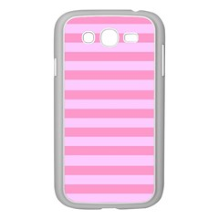 Fabric Baby Pink Shades Pale Samsung Galaxy Grand DUOS I9082 Case (White)